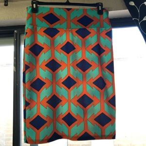 Lularoe pencil skirt, L